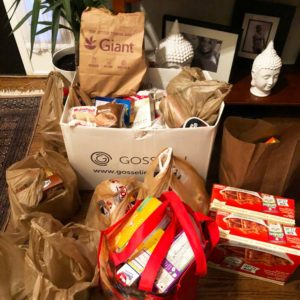Food and financial donations flowing in. Thanks to the residents of Mitchell Loop Estates.
